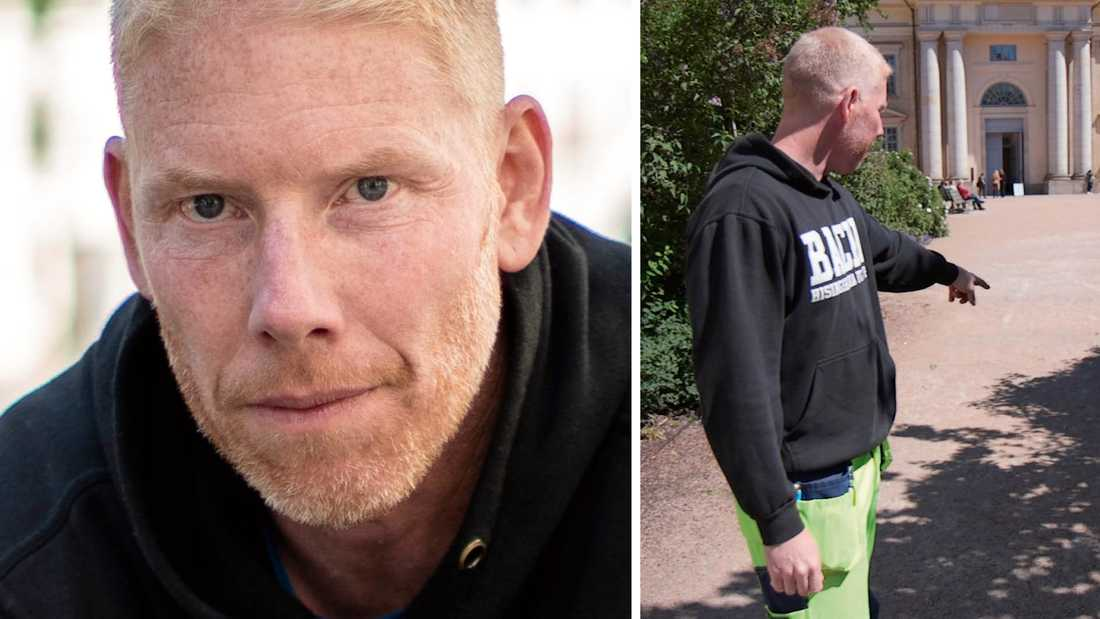 """""""Jag kan inte fatta hur man kan sjunka så lågt att man ger sig på äldre"""", säger Niklas Berndtsson."""