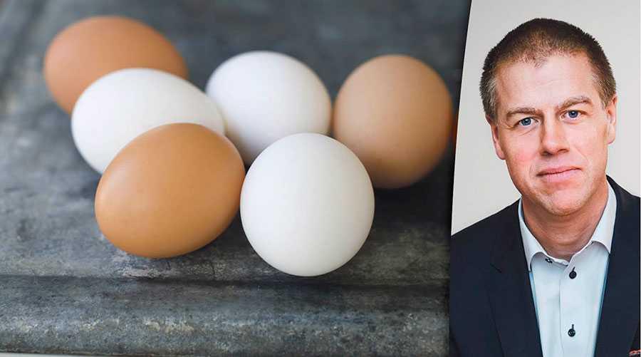 Varje dag tvingas vi faktiskt slänga fullt ätbara ägg – för att inte bryta mot lagen, skriver Magnus Johansson, vd för Coop Sverige.