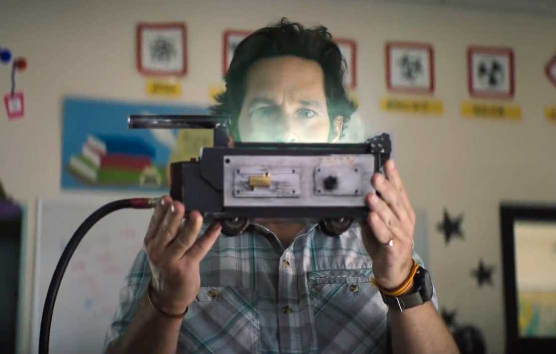 "Paul Rudd i ""Ghostbusters: Afterlife""."