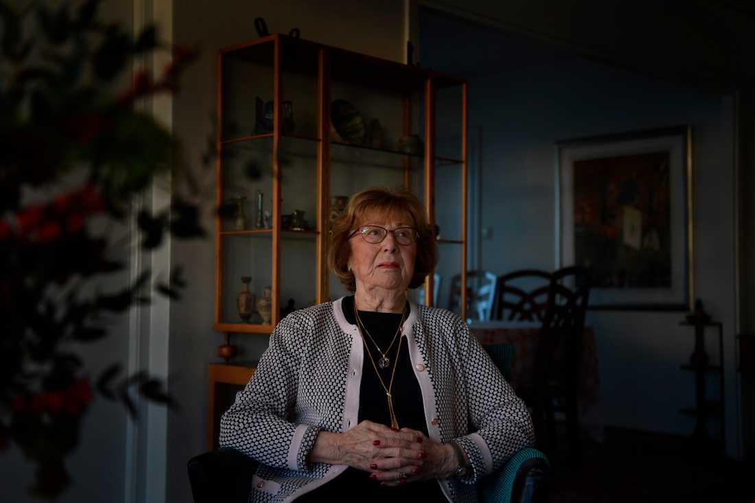 Förintelseöverlevaren Elisabeth Kischinowsky.