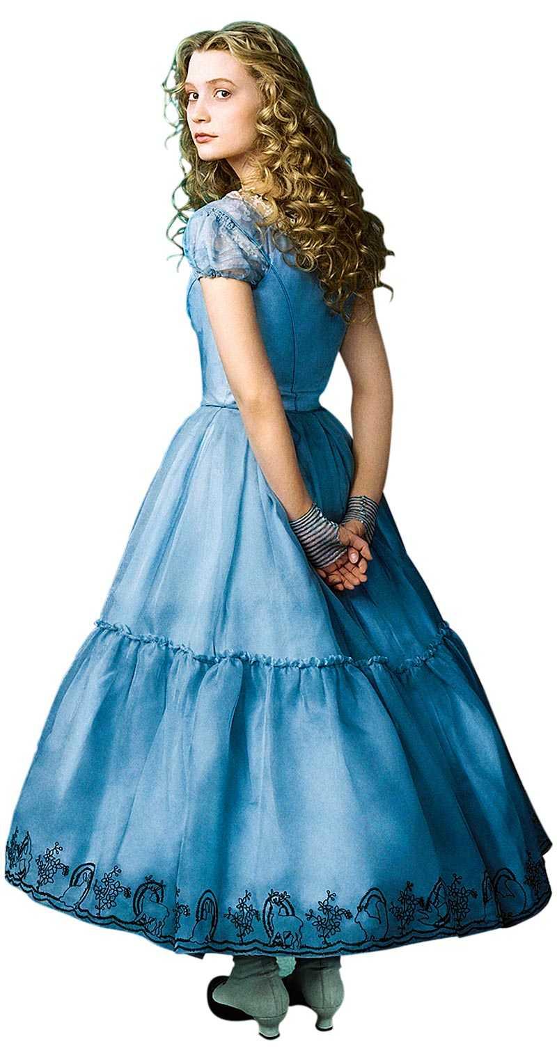 Mia Wasikowska som Alice