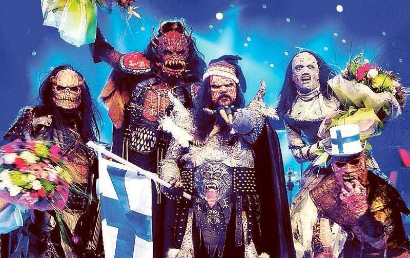 Lordi hade det tidigare rekordet i Eurovision med 292 poäng.