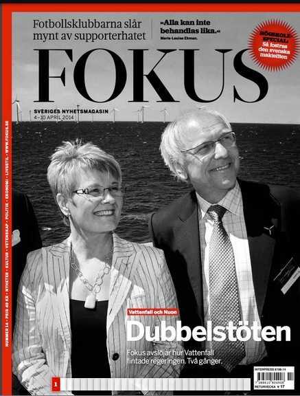 Senaste numret av Fokus – där de listar var makthavarna har studerat.