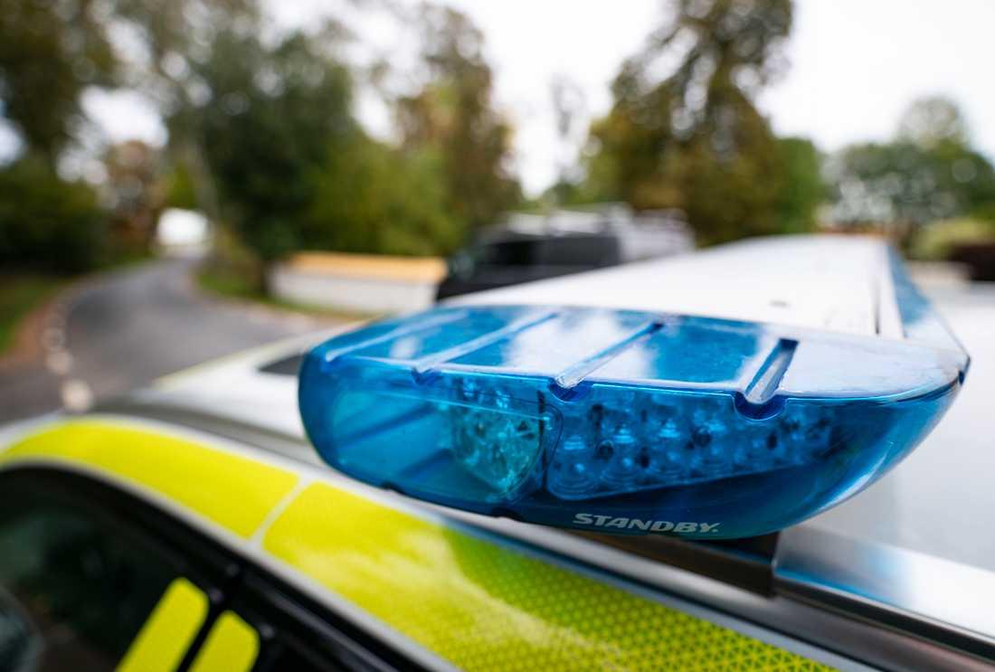 En person har anhållits misstänkt för bombhotet mot en sportanläggning i Skövde. Arkivbild.