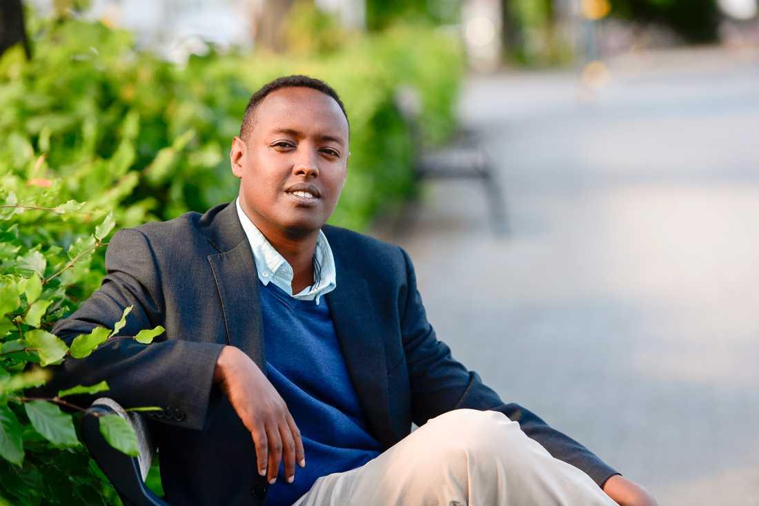 Ahmed Abdirahman, grundaren av The Global Village som arrangerar Järvaveckan. Arkivbild.