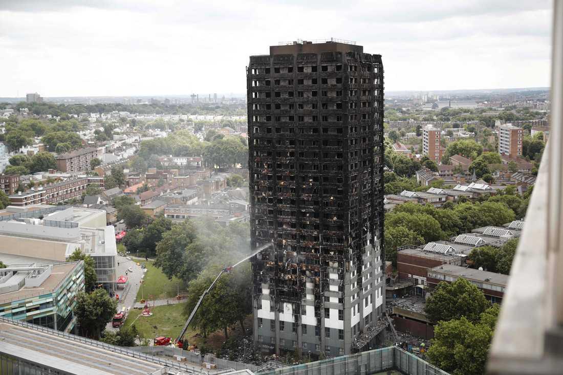 24 utbrända våningsplan ska nu undersökas del för del.