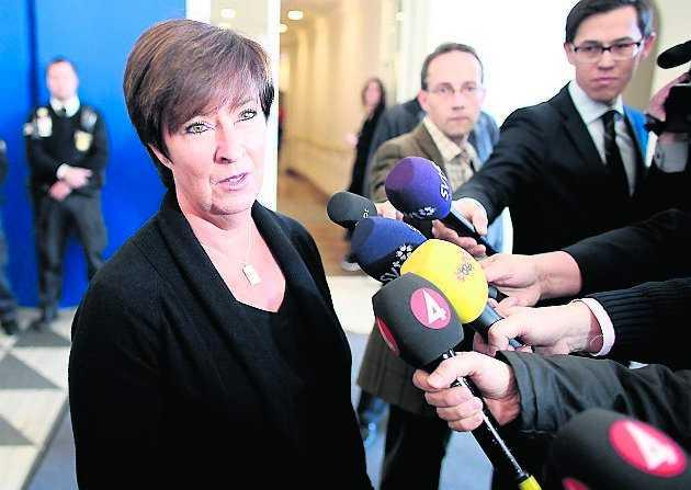 """""""Jag har haft många samtal med vänner nere i Malmö som är riktigt, riktigt rädda"""", säger Mona Sahlin."""