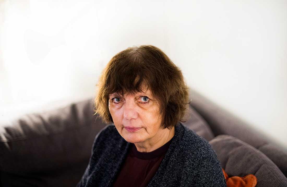 Kristina Kjell, 64, fick sin diagnos på 80-talet.
