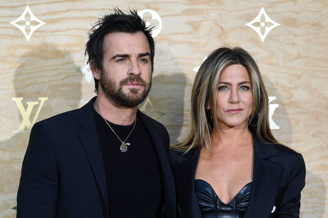Jennifer Anniston och Justin Theroux.