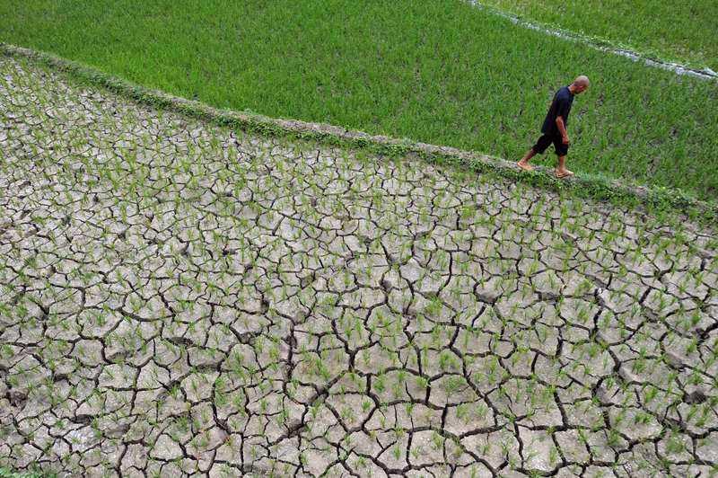 KINA: 3,2 miljoner lider av vattenbrist En månads ihållande torka har orsakat svår vattenbrist i delar i landet. I Hubei-provinsen i centrala Kina befaras 3,2 miljoner människor lida av akut vattenbrist. Myndigheterna har klassat situationen som ett akut nödläge (en fyra på den fyrgradiga skalan).