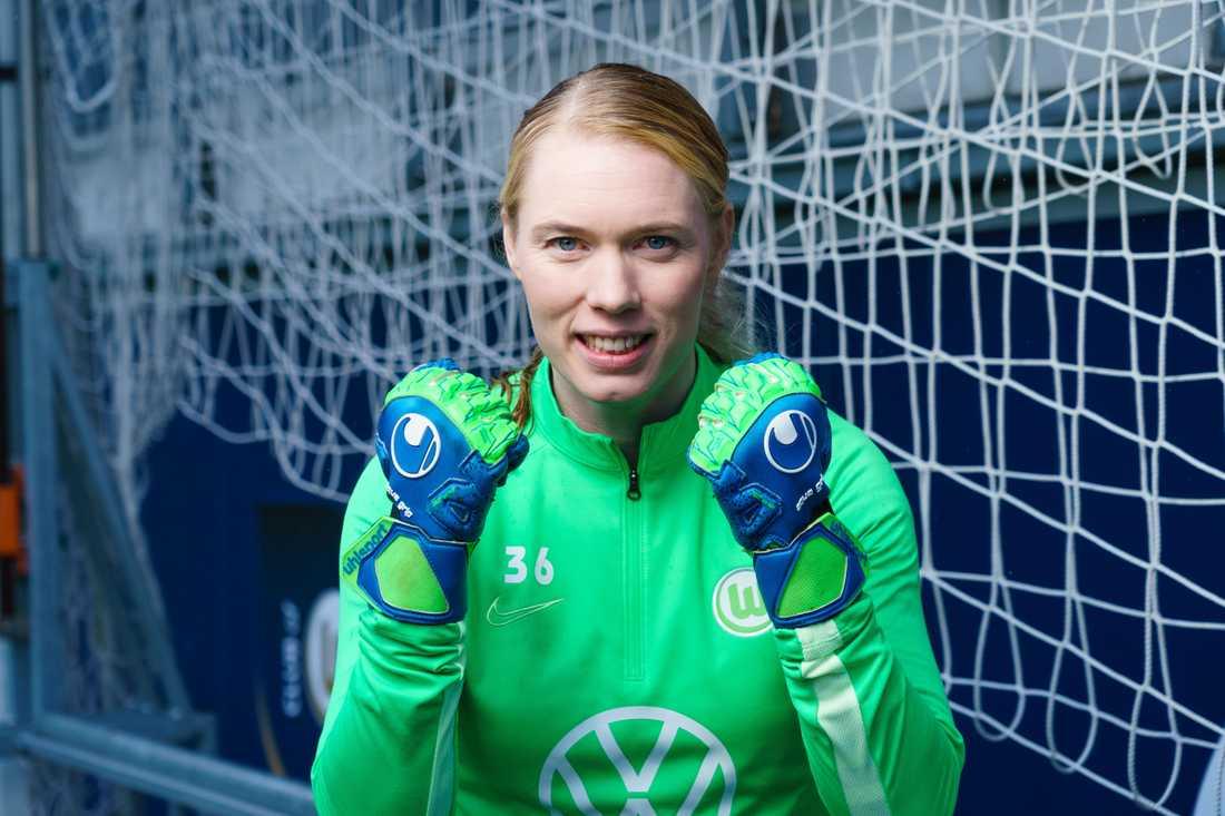 Hedvig Lindahl trivs bra i Wolfsburg – men nu får hon lämna.