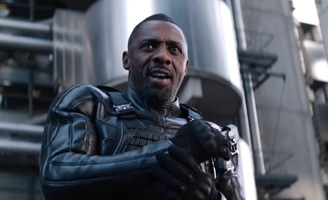 Idris Elba spelar skurken.