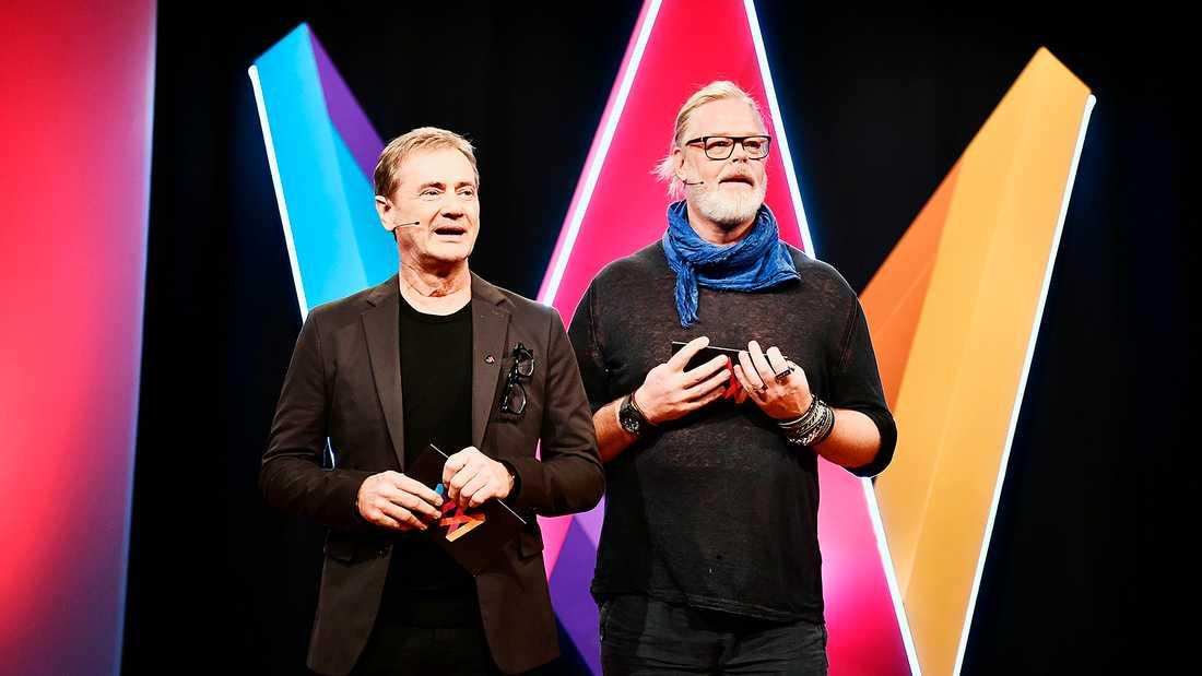 Henric von Zweigbergk och Christer Björkman.