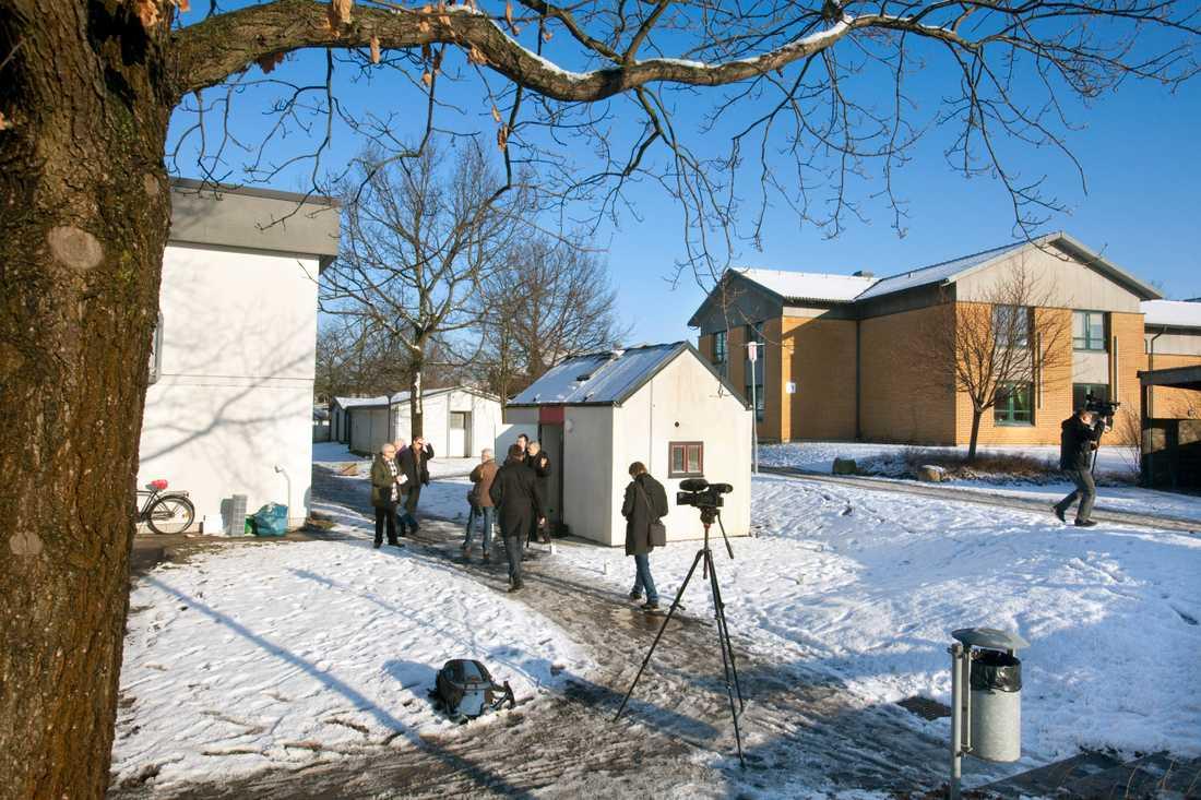 Endast 8,8 kvadratmeter är Sveriges minsta studentlya.