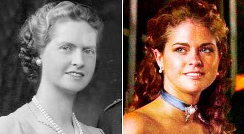 Kungens mamma Sibylla och prinsessan Madeleine.