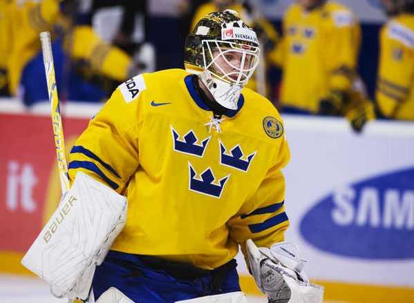 Niklas Lundström spelade J-VM för Sverige i vintras.