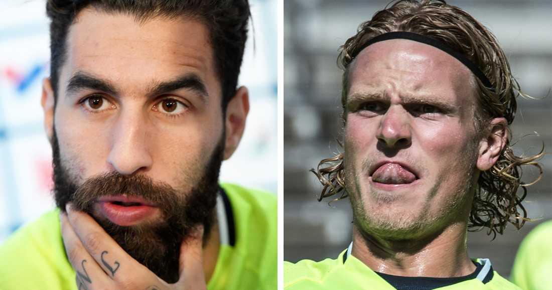 Durmaz och Hiljemark förväntas bli bänkade i morgon.