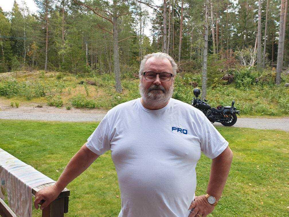 Lars Sundberg, ordförande för PRO Norrtälje.