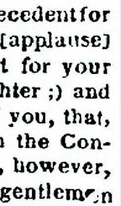 Abraham Lincoln – och talet från 1862.
