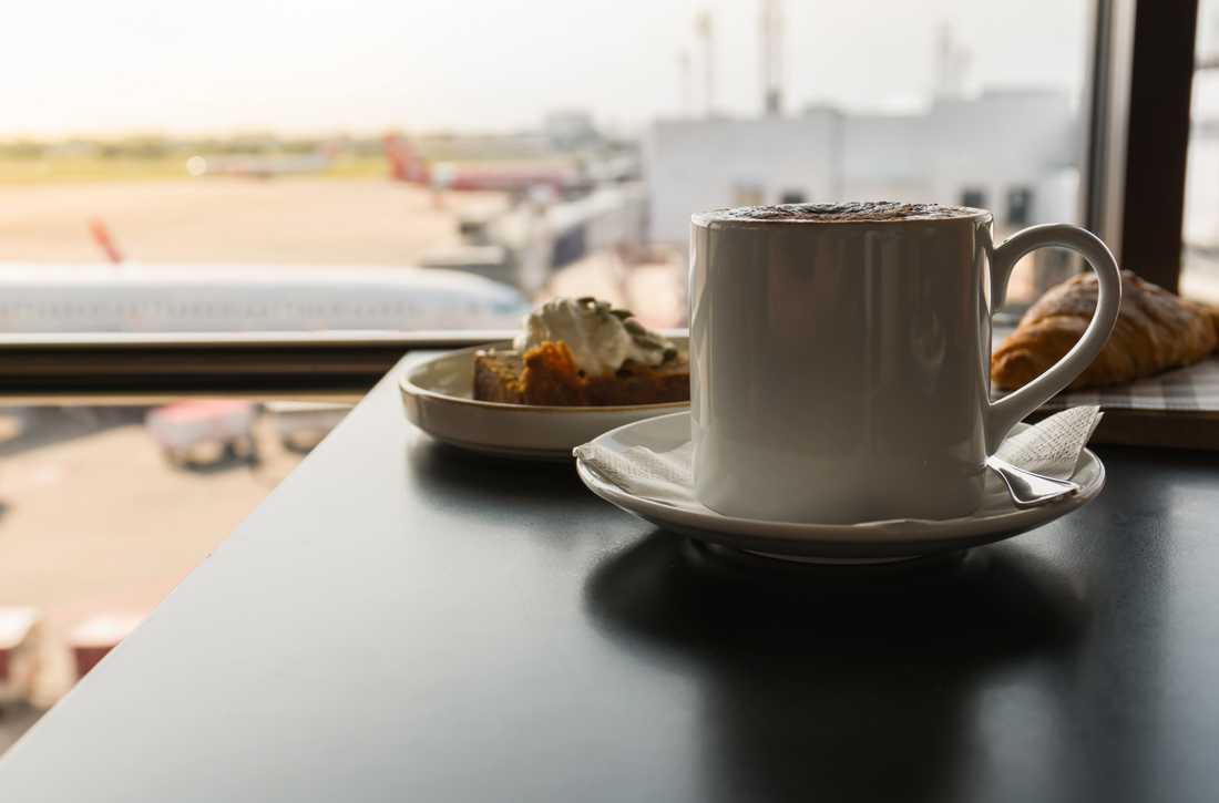 Flyglounger är ofta lugna oaser på flygplatser.