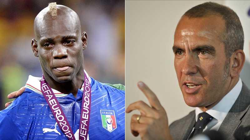 Mario Balotelli och Paolo Di Canio