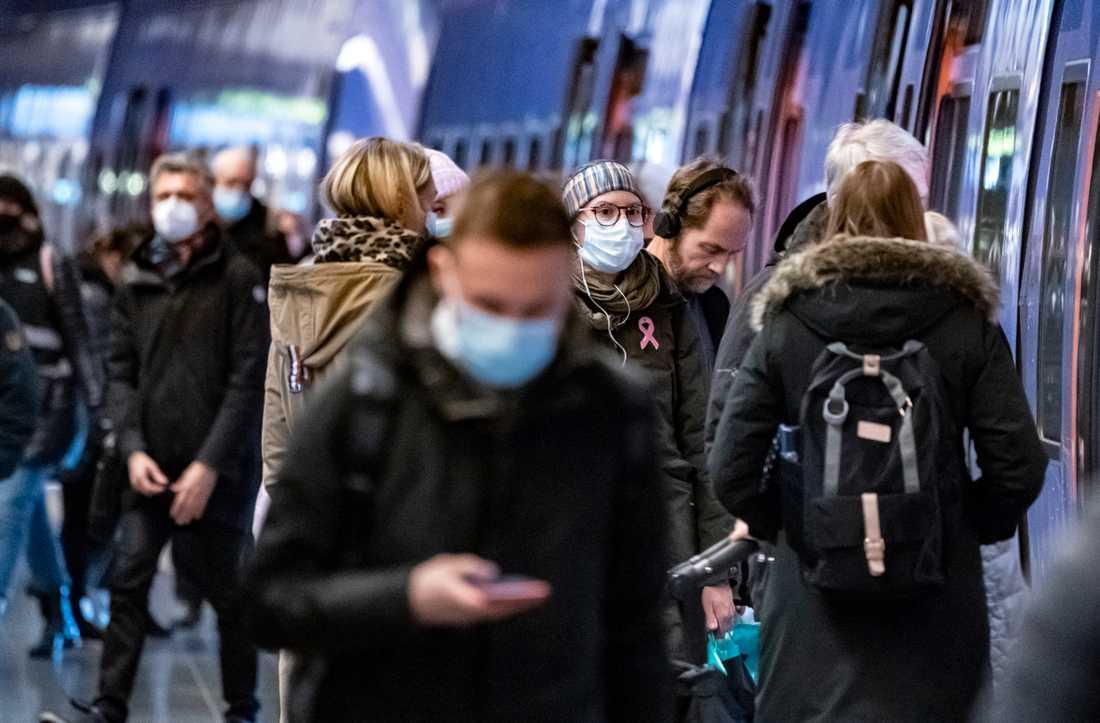 Totalt 93,5 procent av alla tågavgångar kom i tid till sin slutdestination under 2020. Arkivbild.