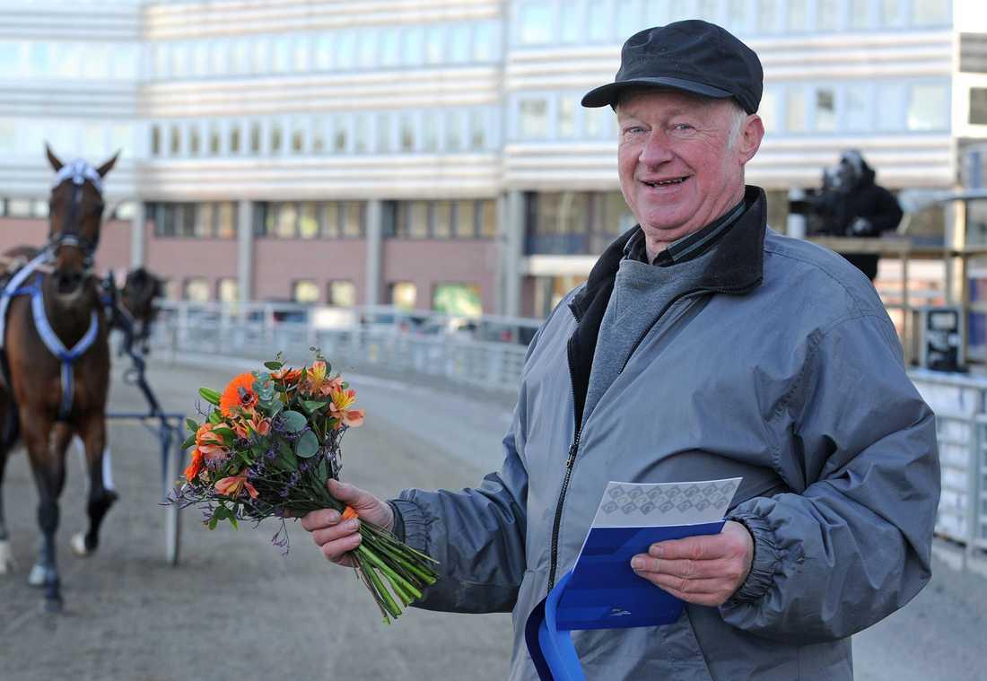 Sören Bertilsson inför V86 med Havbergs Viking