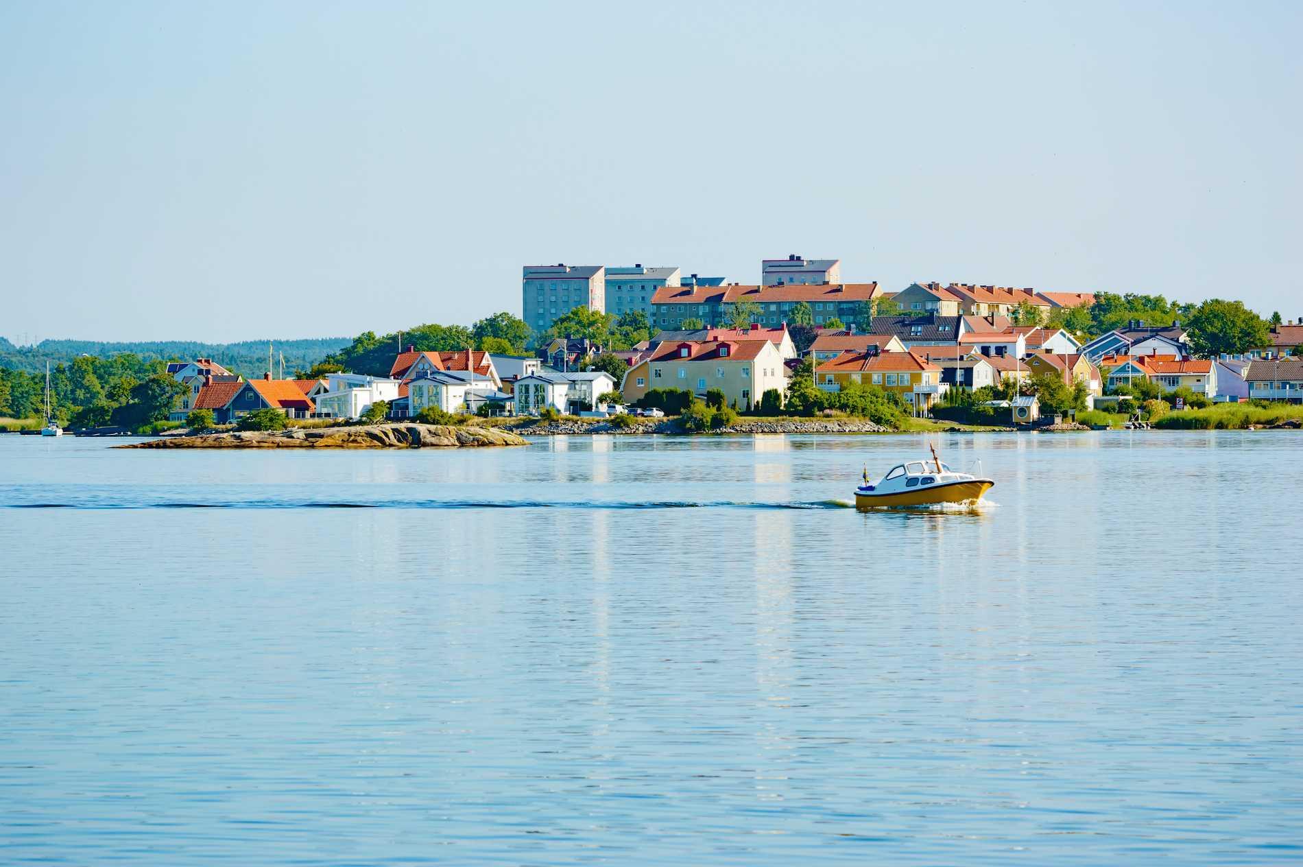 Hela Karlskrona är i dag ett världsarv.