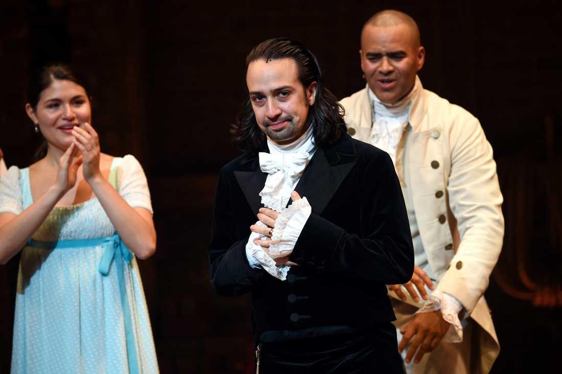 Lin-Manuel Miranda som Alexander Hamilton.