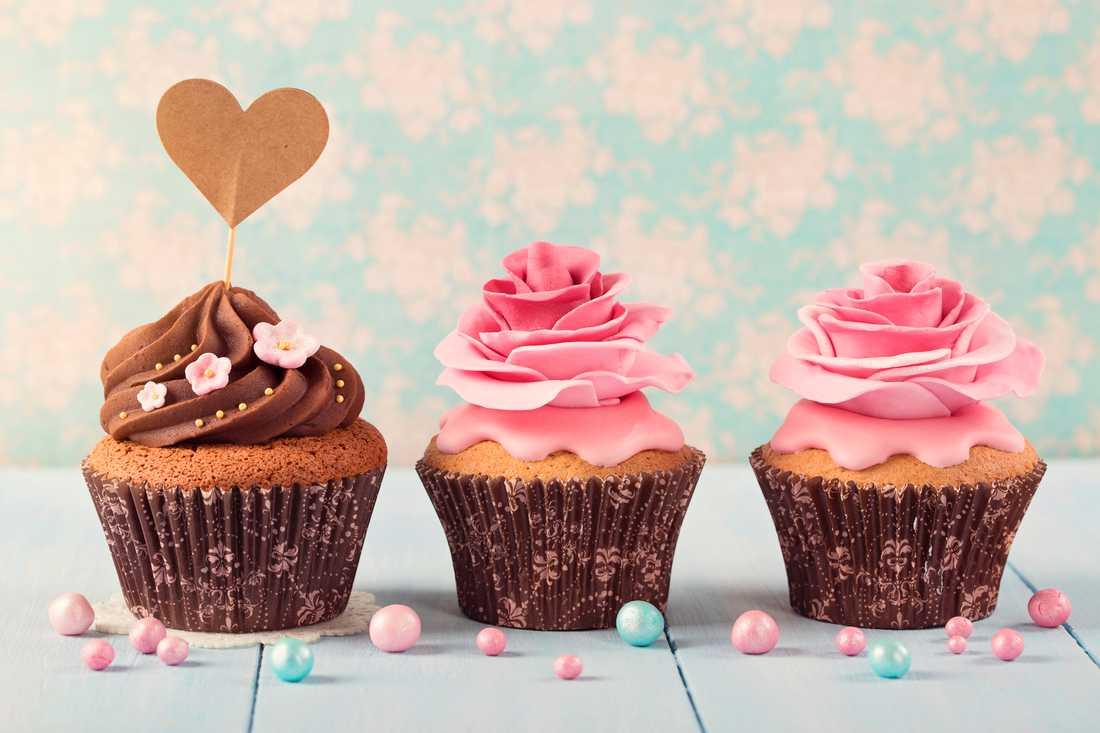 Kärleksmuffins –ett tips på efterrätt till Alla hjärtans dag.