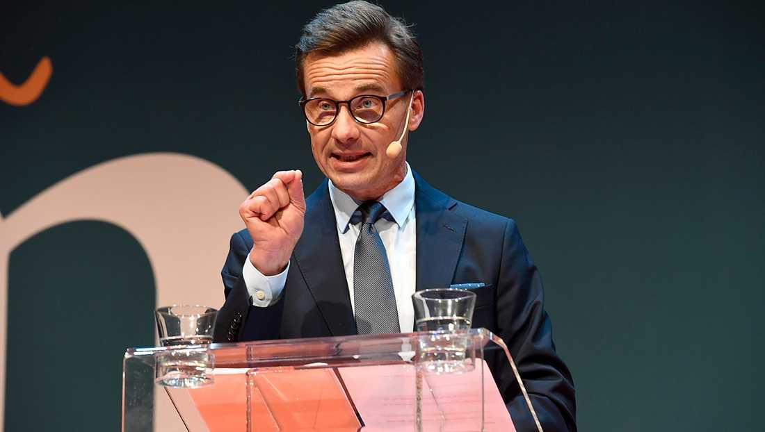 Ulf Kristersson, Moderaternas partiledare.
