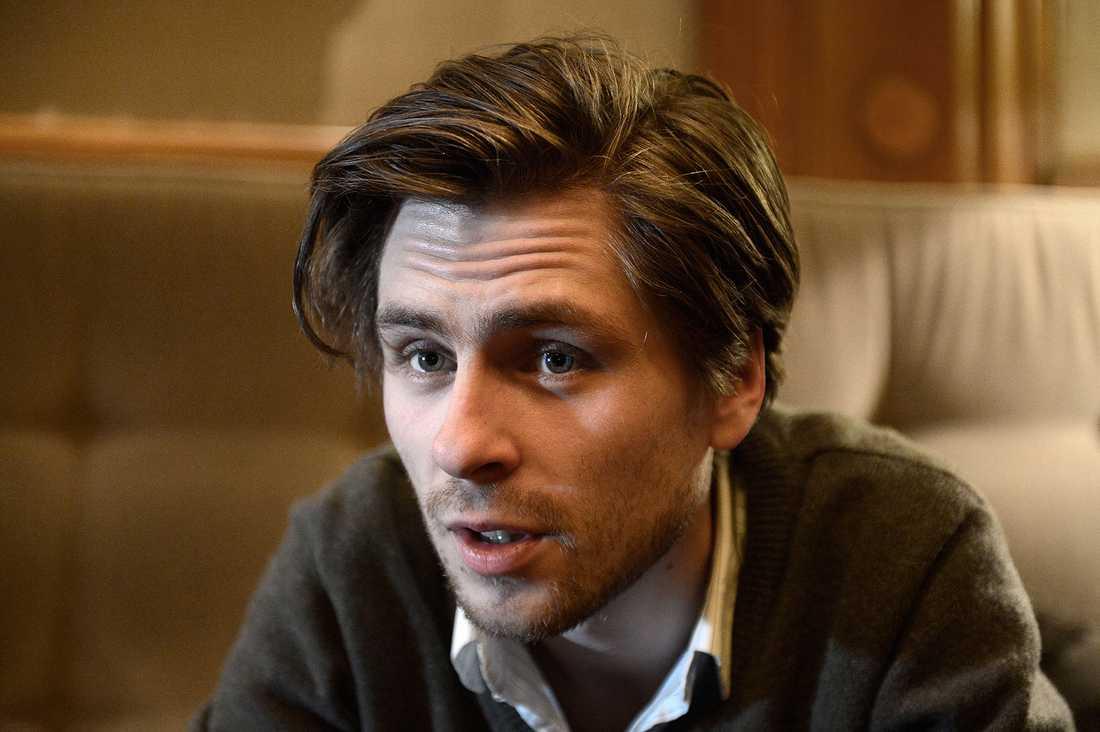 Sverrir Gudnason gör en av huvudrollerna i filmen.