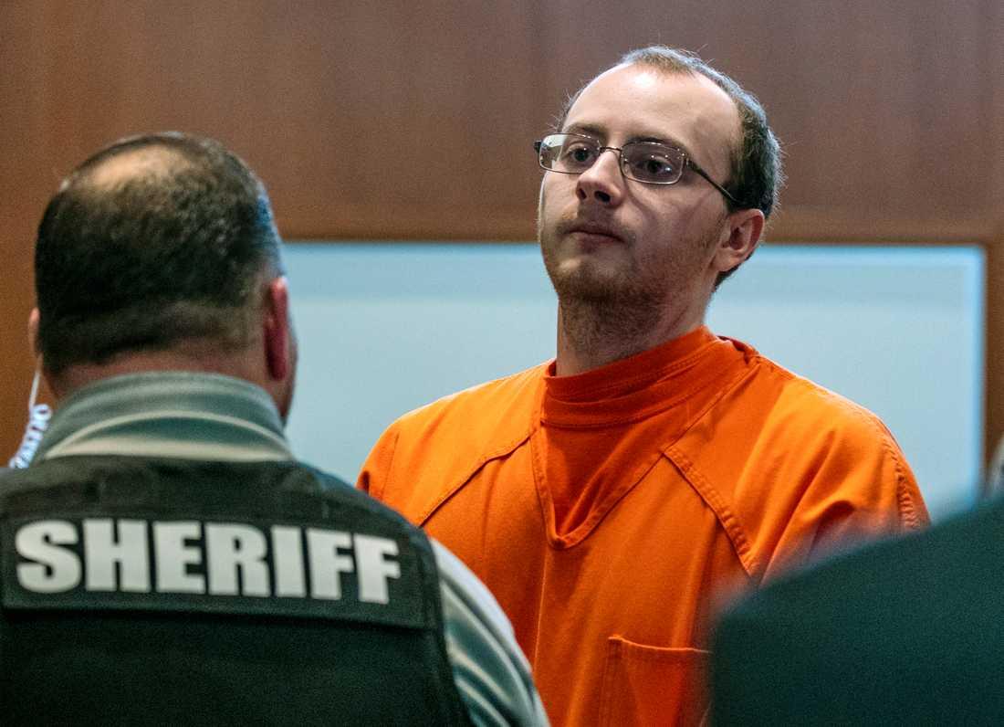 Jake Patterson, 21, döms till livstids fängelse.