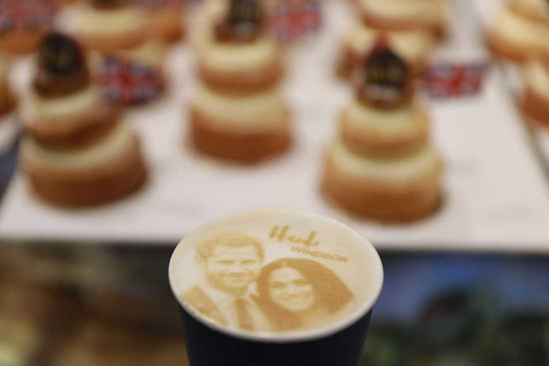 Ett kafé i London servera Megharryccino.