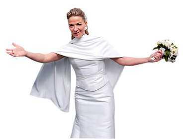 """""""Det här känns härligt"""", sa Kristin efter bröllopet."""