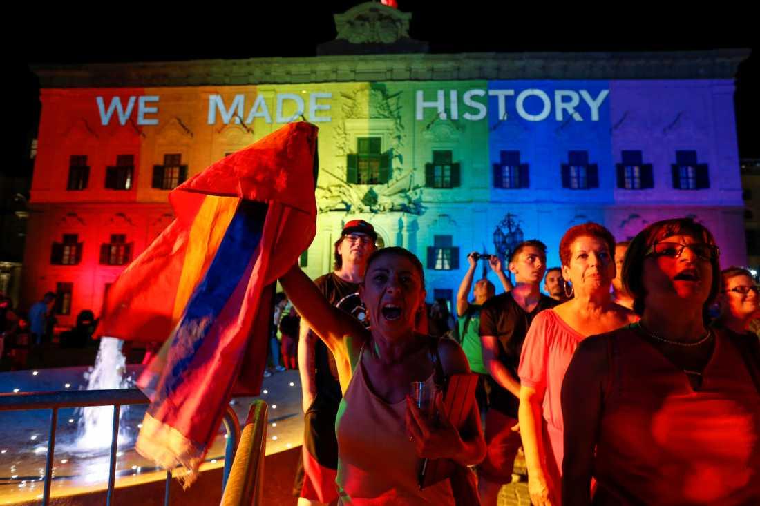 """We made history""."