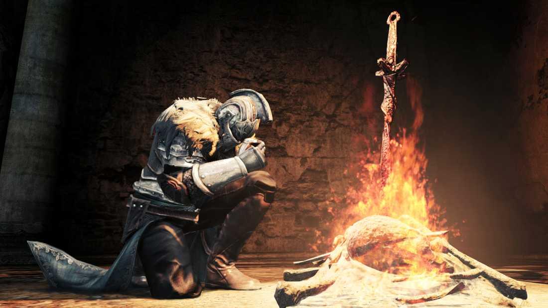 """Svåra spel kan göra spelarna mer aggressiva än våldsamma sådana, enligt en ny studie. På bilden: det ökänt sadistiska """"Dark souls II""""."""