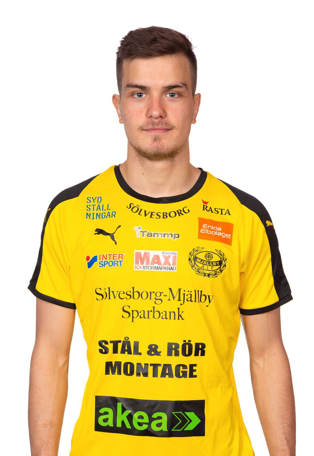 Det blev totalt två mål på tio matcher i Mjällby AIF.