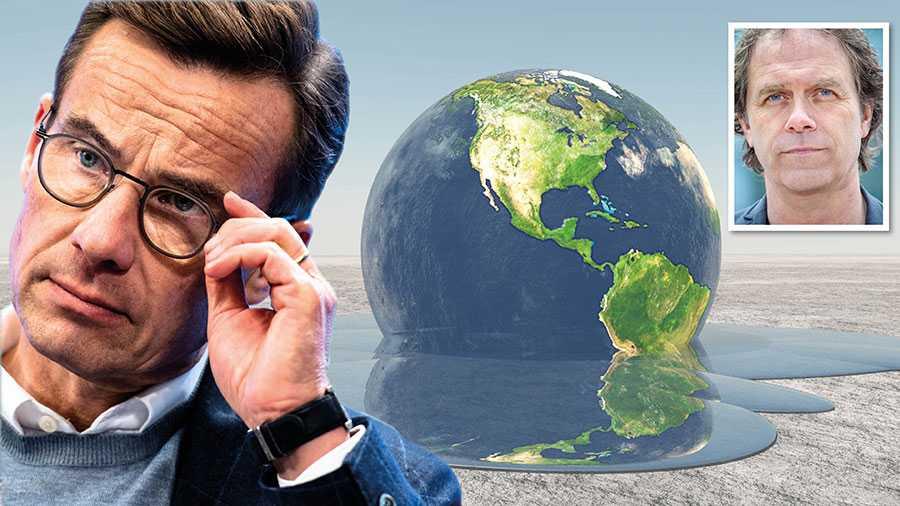 År ut och år in sprider folkvalda moderata företrädare konspirationsteorier om klimatet utan att Ulf Kristersson lyfter ett finger, skriver Pär Holmgren.