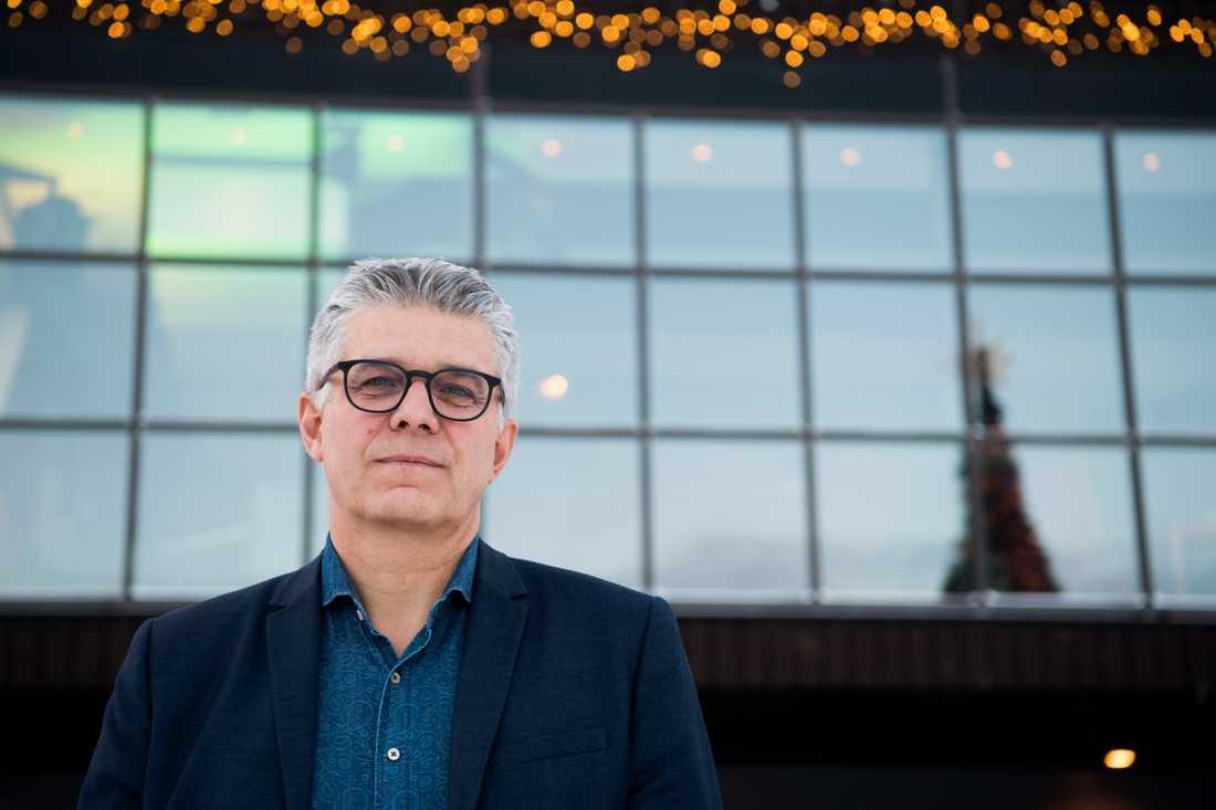 Rikspolischef Anders Thornberg fruktar ännu ett tufft år vad gäller dödsskjutningar. Han deltar i Folk och försvars rikskonferens på Högfjällshotellet i Sälen.