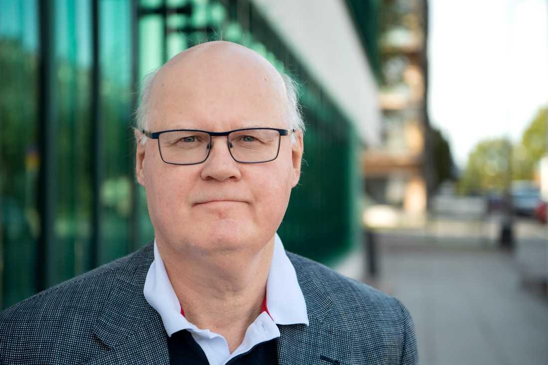 Jan Hallenberg, forskningsledare och expert på USA:s utrikes-och säkerhetspolitik vid Utrikespolitiska institutet. Arkivbild.