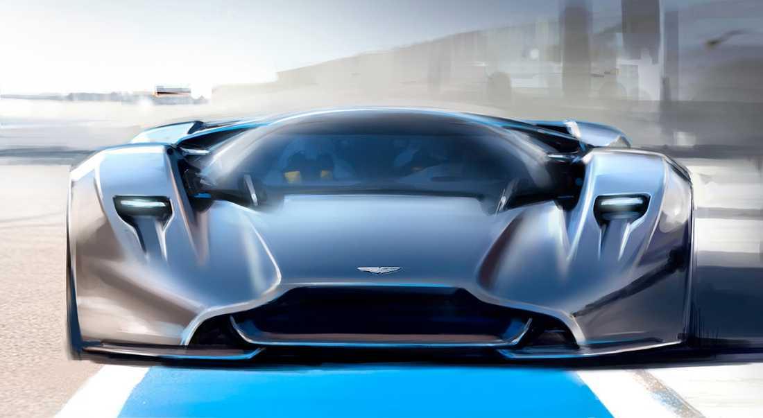 Aston Martins koncept DB100 Vision