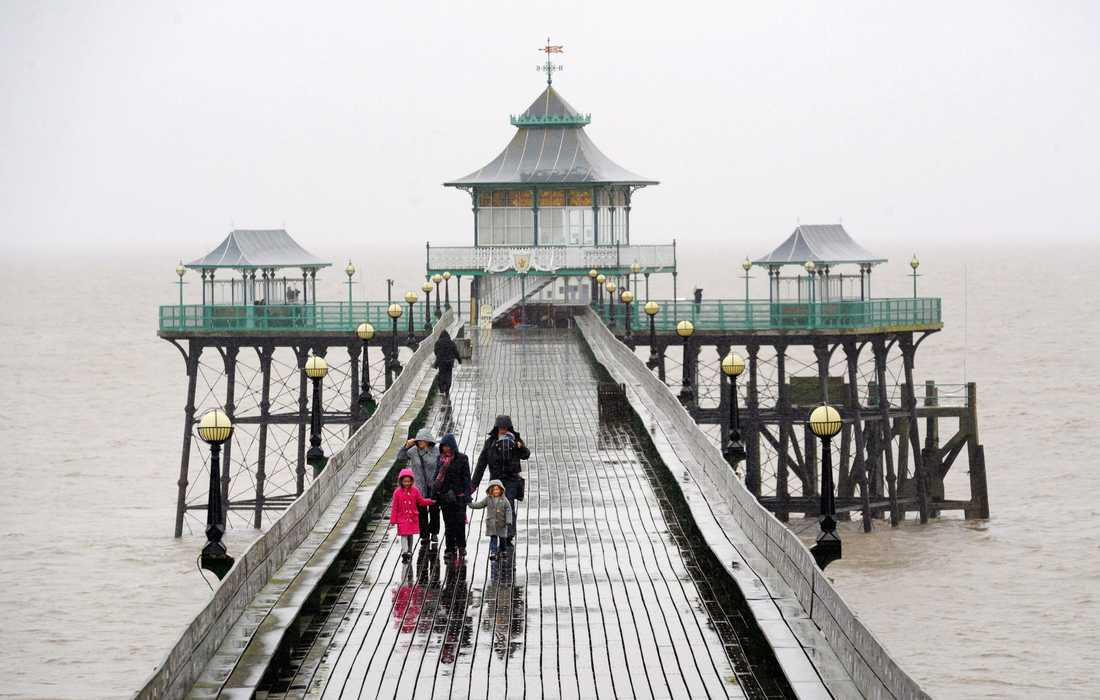 Clevedon Pier i Somerset, England.