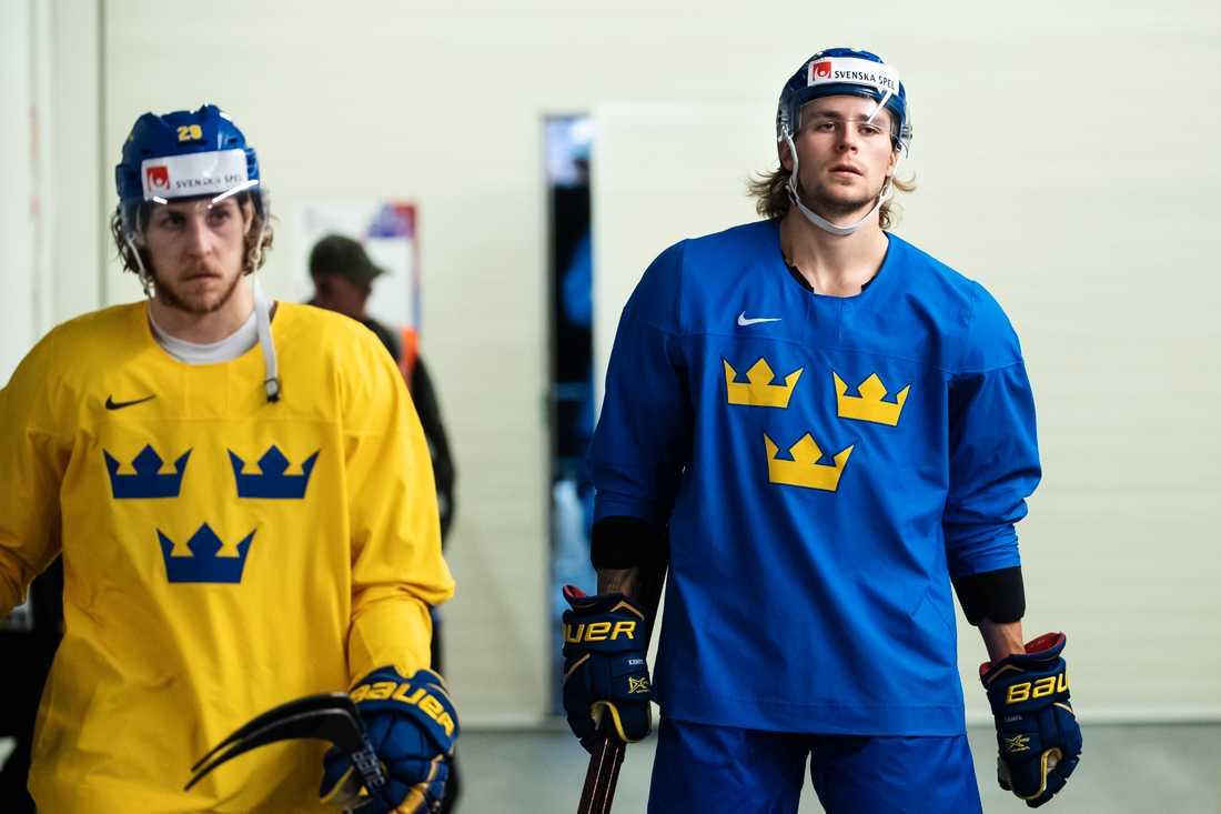Mario och Adrian Kempe i Tre Kronor.