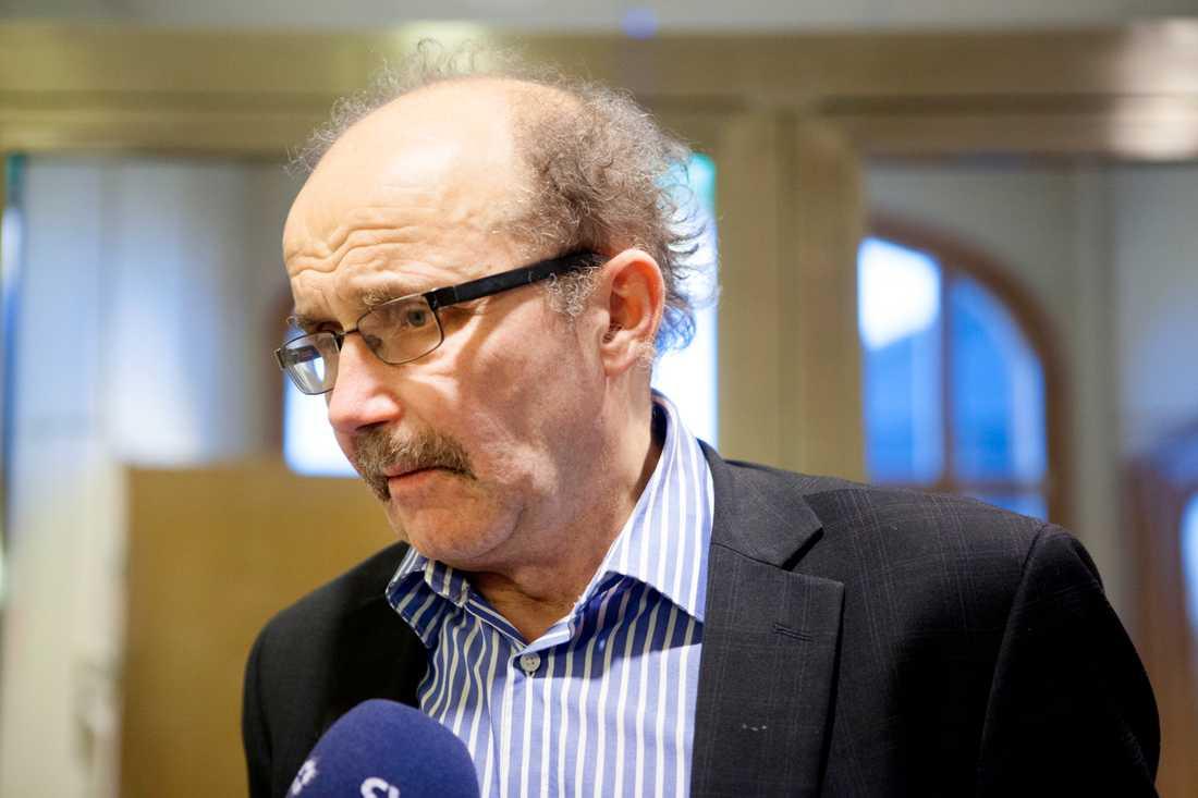 Kammaråklagare Christer Sammens driver frågan om telefonavlyssning. Arkivbild.
