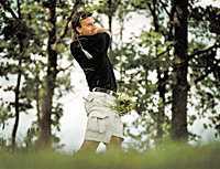 Christian Bergströms främsta idrottsliga sysselsättning nuförtiden   golf.