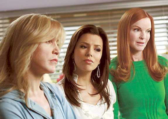 "Fruarna i ""Desperate housewifes"" blir snart färre."