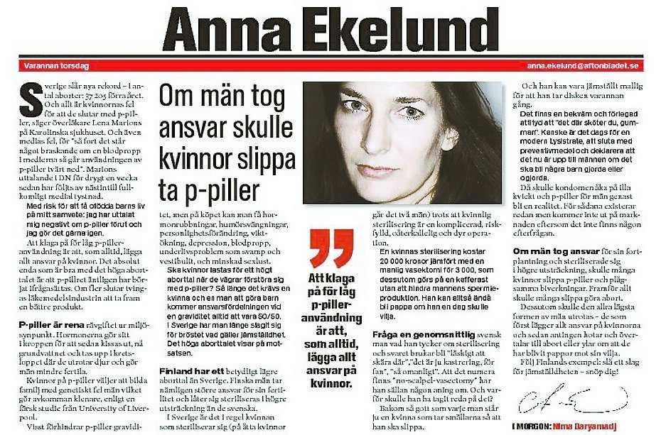 Aftonbladet 4 september