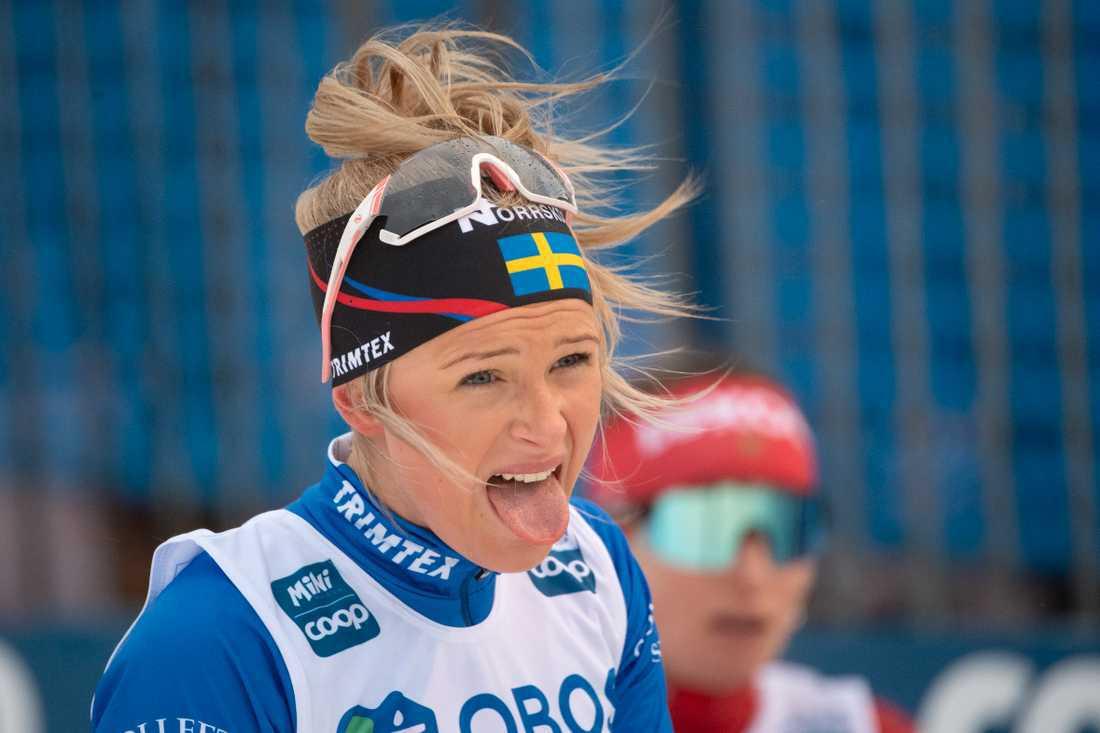 Skidåkerskan Frida Karlsson