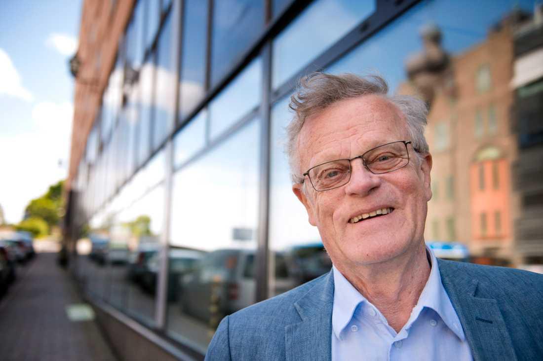 RF:s ordförande Björn Eriksson.